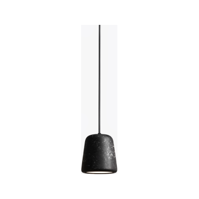 Material Pendant Light Black Marble