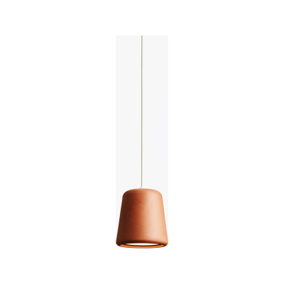Material Pendant Light Terracotta