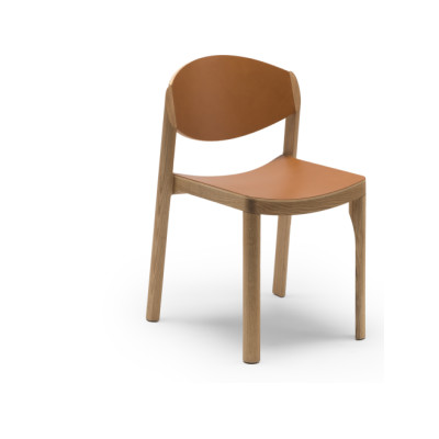 Mauro Dining Chair Oak waxed
