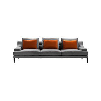 Megara Four-Seater Sofa Cairo - Bianco 01