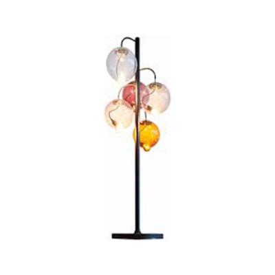 Meltdown Cluster Floor Lamp 5 Diffuser Amber