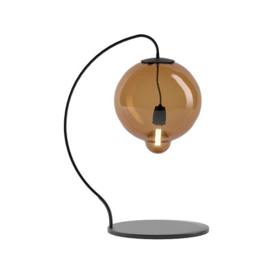 Meltdown Single Table Lamp Pink