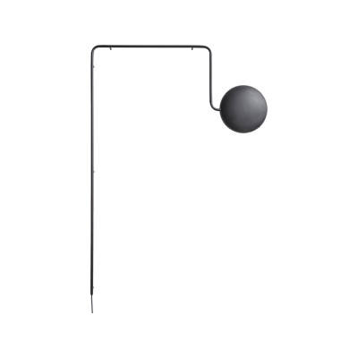 Mercury Wall Light Black