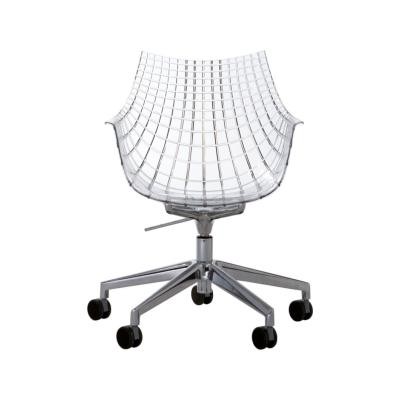 Meridiana Chair on Soft Castors White