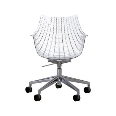 Meridiana Chair on Soft Castors White
