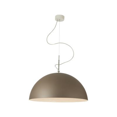 Mezza Luna Bronze Pendant Light White, 120cm