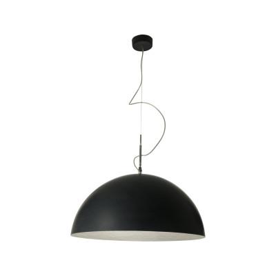 Mezza Luna Pendant Light Black, Silver, 120cm