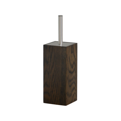 Mezza Toilet Brush Dark Oak