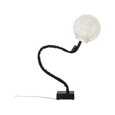 Micro Luna Piantana Floor Lamp Black