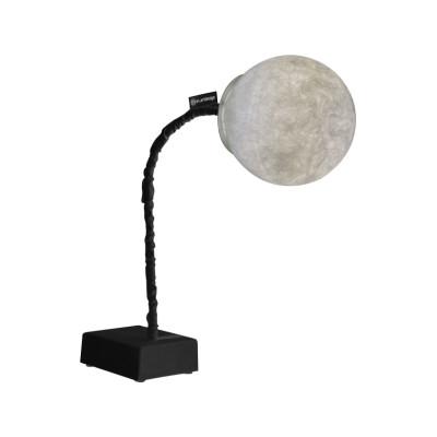 Micro T Luna Table Lamp Black