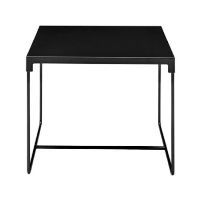 MINGX Square Outdoor Table Black