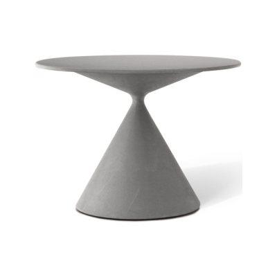 Mini Clay 702 Table with Ceramic Top Desalto Marble Court Grey D62, Desalto Lacquers Grey Umbro B84, 65, 75