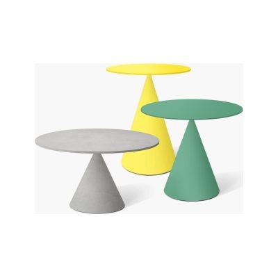 Mini Clay 702 High Table - Indoor Desalto Marble White Duomo D63, 60