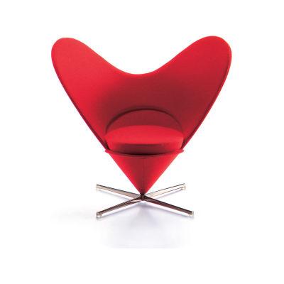 Miniature Heart-Shaped Cone Chair
