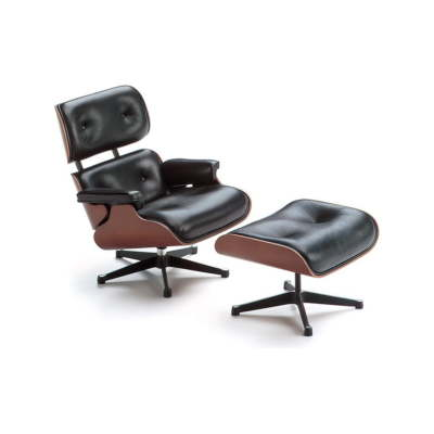 Miniature Lounge Chair & Ottoman