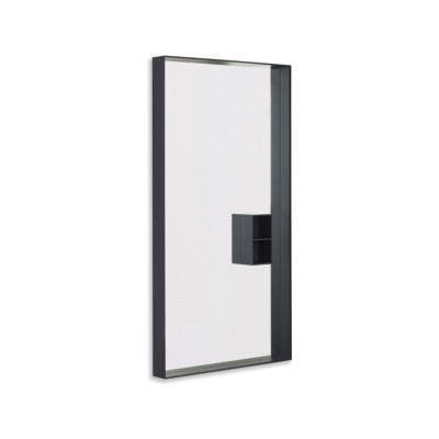 Mir 723 Rectangular Wall Mirror B62 Matt White, B62 Matt White, LED on All Four Sides