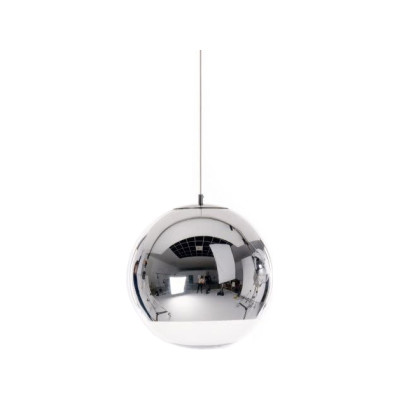 Mirror Ball Pendant Light Chrome, Medium