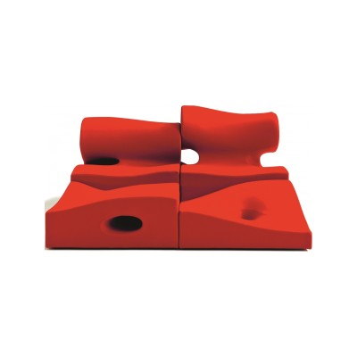Misfits Seating System - Central 1 B0211 - Leather Oil cirè