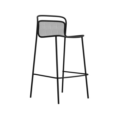 Modern Barstool - Set of 4 Copper 87