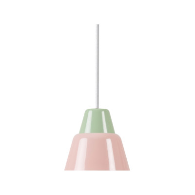 MODU | Pendant Light Medium | Light Green & Pink