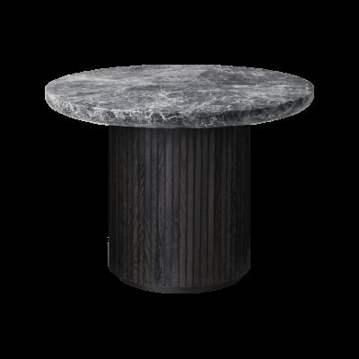 Moon Round Marble Coffee Table Gubi Marble Bianco Carrara, 150