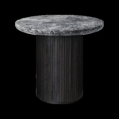Moon Round Marble Lounge Table Gubi Marble Bianco Carrara