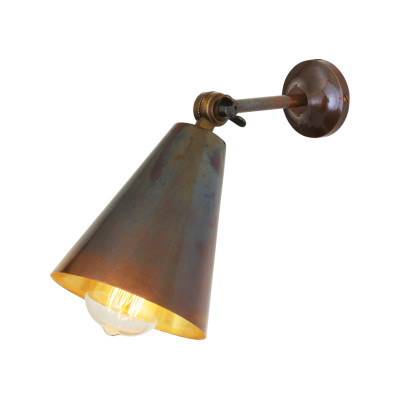 Moya Wall Light Satin Brass