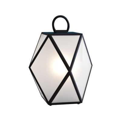 Muse Outdoor Lamp Muse White Pearl Lacquered, Large