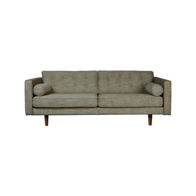 N101 3 Seater Sofa Olive Green