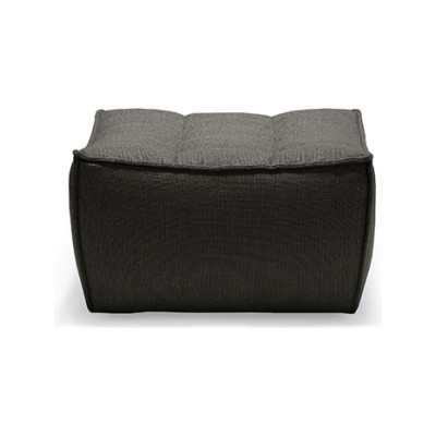 N701 Footstool Dark Grey
