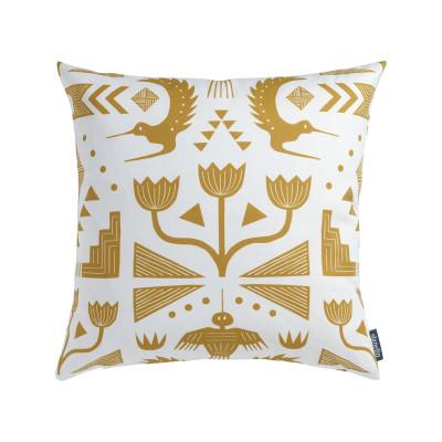 Nazca (Ochre) Cushion Cushion + Pad