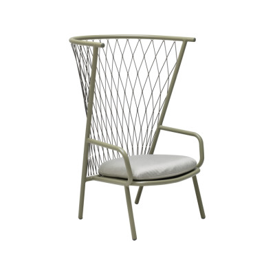 Nef Lounge Chair Grey / Green 37, Dark Grey 30
