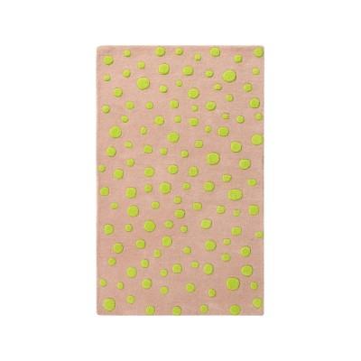Neon Dots: Childrens Wool Rug Neon Dots: Childrens Wool Rug