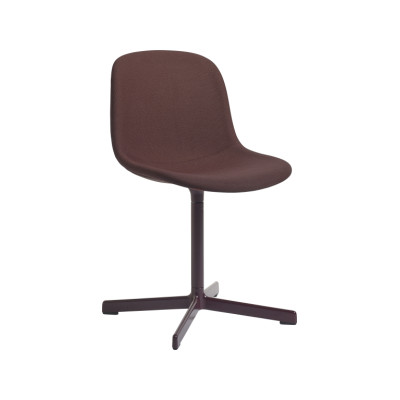 Neu 10 Upholstered Chair with Swivel Base Coda 2 100,Hay Aluminium Polished