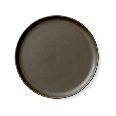 New Norm Lunch Plate - Set of 6 Dark Glazed
