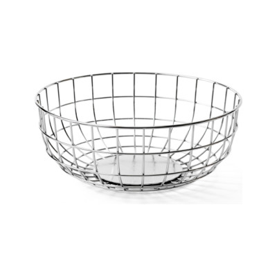 Norm Wire Bowl - Set of 4 Chrome