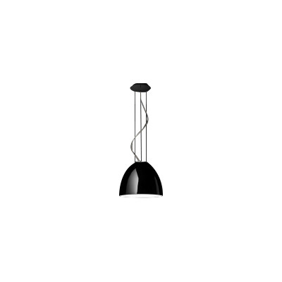 Nur Gloss Mini LED Pendant Light Glossy Black