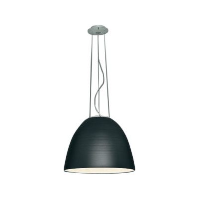 Nur Mini LED Pendant Light Aluminium Grey