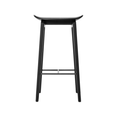 NY11 Bar Chair Black, Low