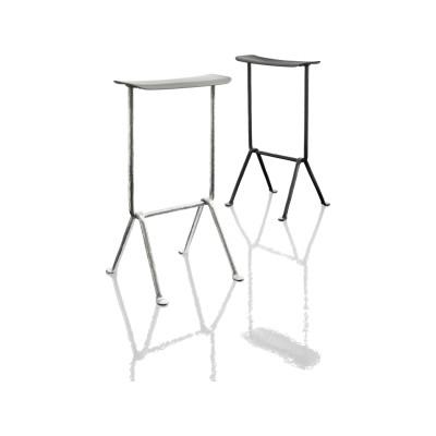 Officina Upholstered Bar Stool Grey Anthracite 5142 , Divina MD 193, 65cm