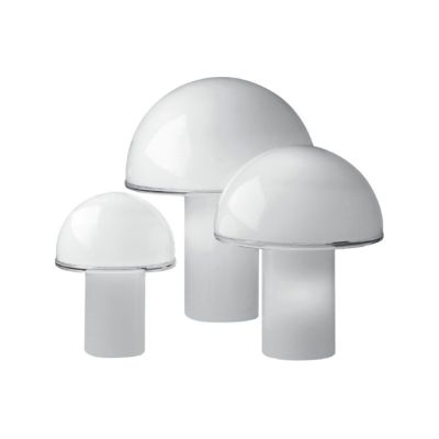 Onfale Medio Table Lamp White