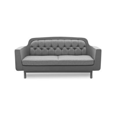 Onkel 2 Seater Sofa Black Leather