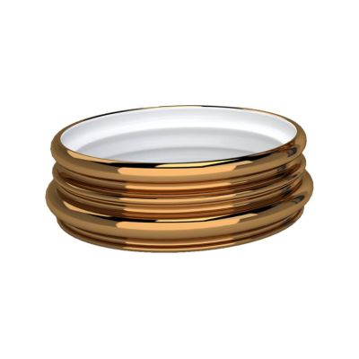 Ordini Bowl Bronze and Matte White