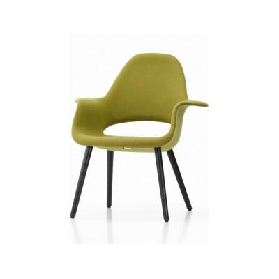 Organic Chair Hopsak 71 yellow/pastel green, 10 Natural oak with protective varnish