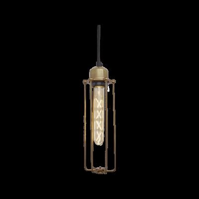 Orlando Cylinder Pendant Light Orlando Cylinder Pendant - 3 Inch - Brass