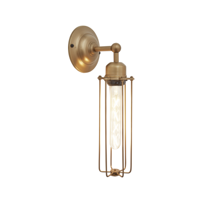 Orlando Cylinder Wall Light Orlando Cylinder Wall Light - 3 Inch - Brass