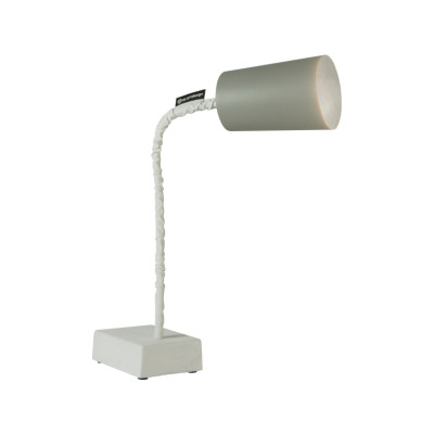 Paint T2 Table Lamp Cemento, Grey, Silver