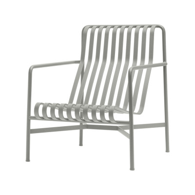 Palissade Lounge Chair - Outdoor Sky Grey, High