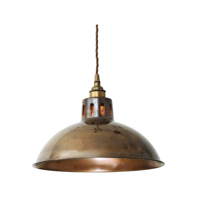 Paris Pendant Light Antique Brass