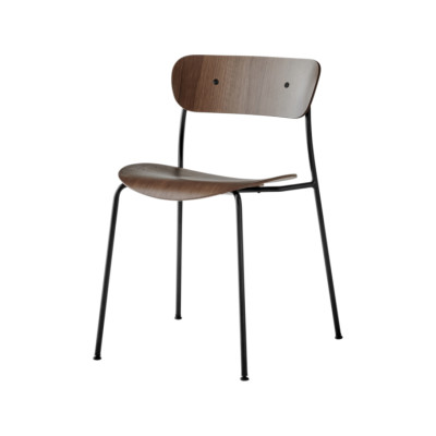 Pavilion AV1 Dining Chair Lacquered walnut
